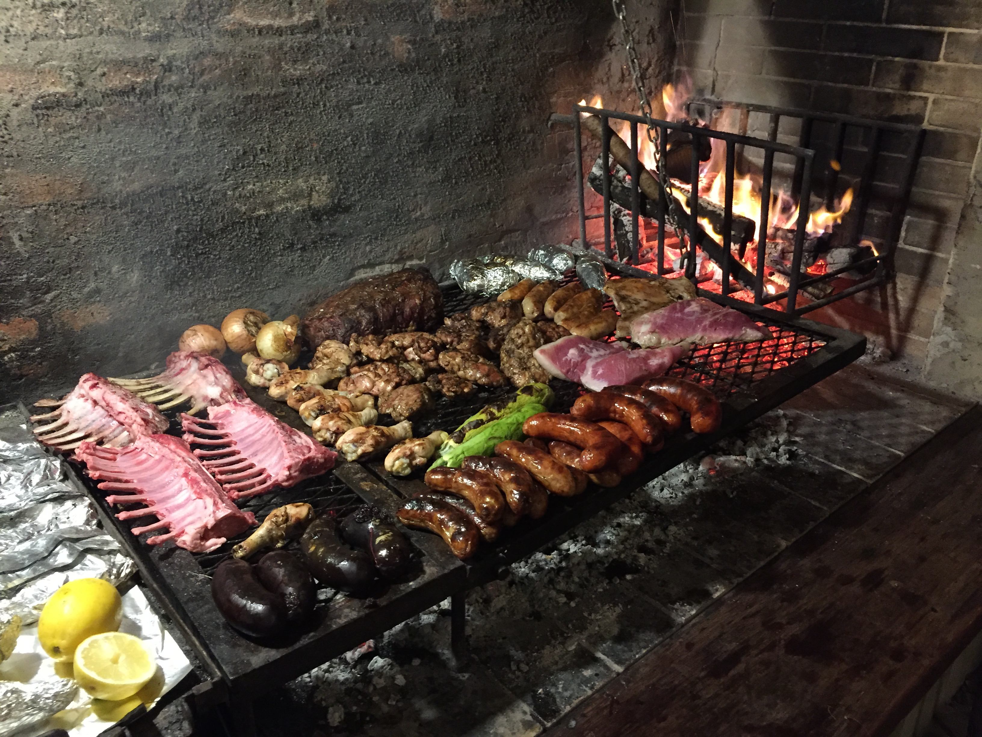 parrilla y rack
