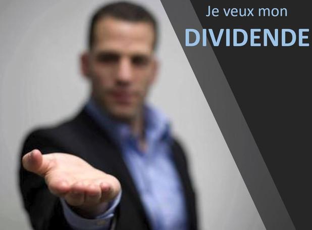 Qu'est-ce qu'un dividende?