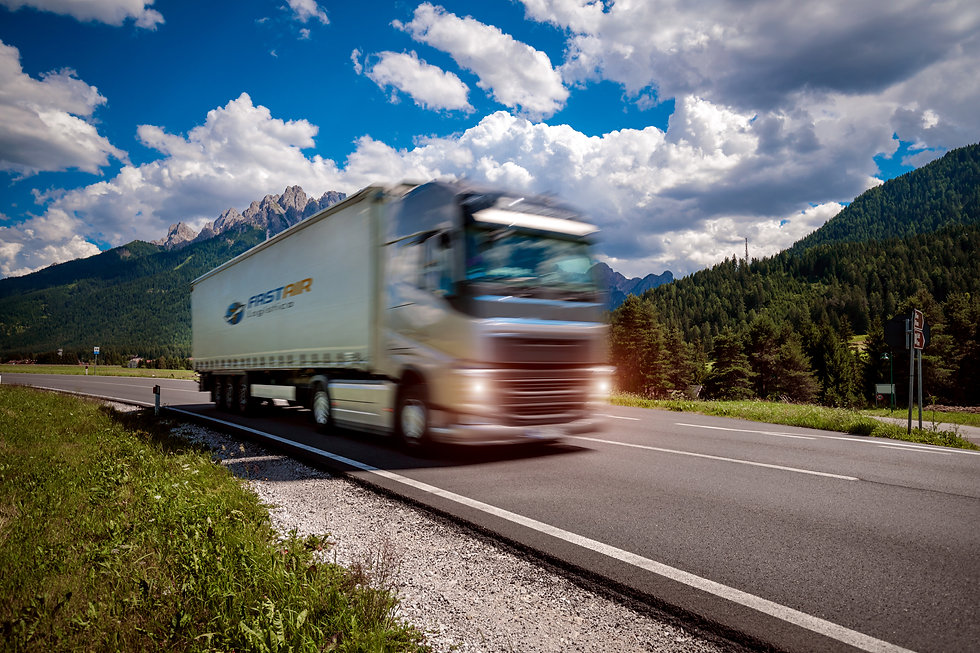 fuel-truck-rushes-down-the-highway-in-th