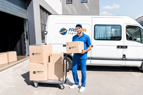 delivery-man-with-box-and-cart-next-to-v