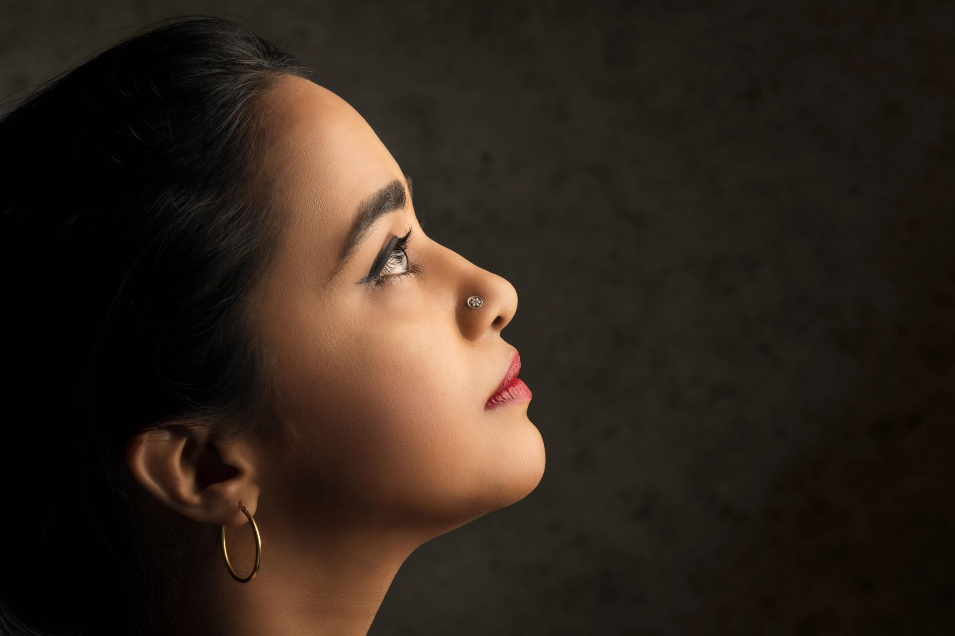 Model: Mayura Kadur    Makeup: Mayura Kadur