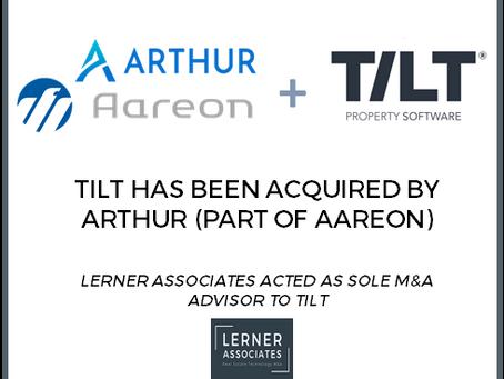 Arthur Online, part of Aareon Group, acquires TILT Property Software