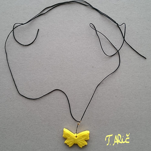 Product 46/2017 (Yellow necklace)