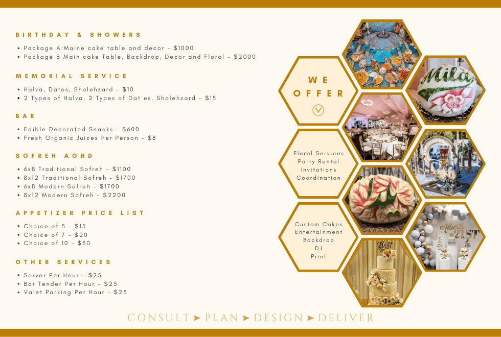 Additional Catering Services