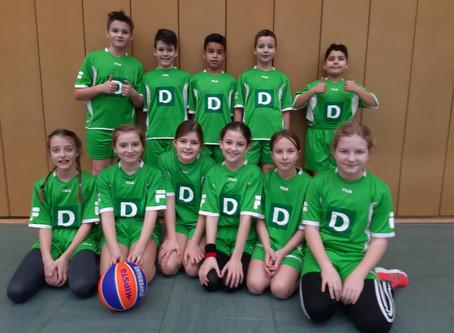2. Platz unserer Basketball-Mannschaft beim Kreisentscheid