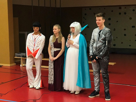 Musical-Darsteller der IGS Plaidt zu Besuch