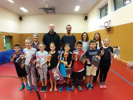 Tischtennis-Meisterschaften an der Grundschule Mendig