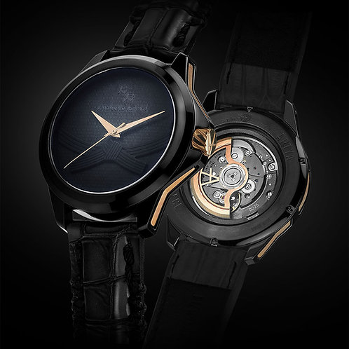 Black Belt Watch by ArtyA with Aion COSC movement