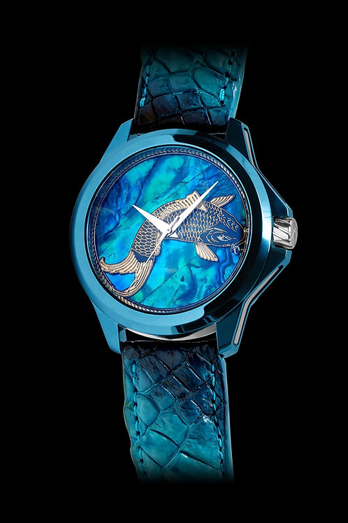 Son of Art Blue Koi