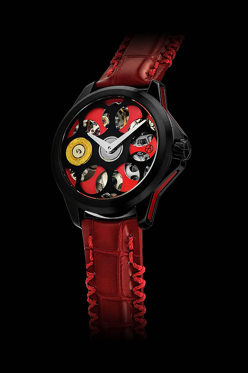 Russian Roulette A1 Black & Red