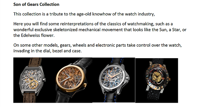 ArtyA Son of Gears Collection