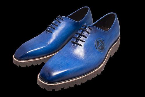 Navy Blue Oxford