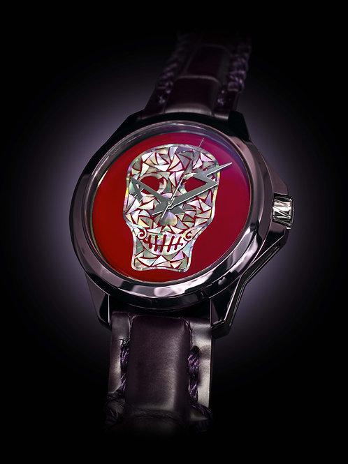 Red & Purple Skull