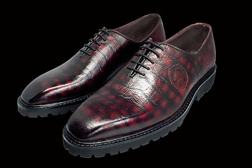 Red Crocodile Oxford