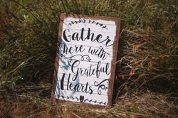 """""""Gather Here with Grateful Hearts"""""""