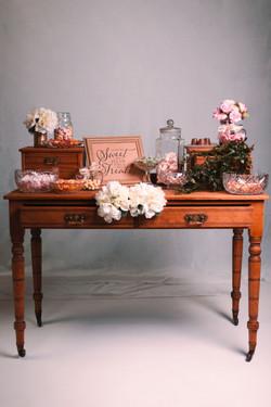 Vintage Wooden Writers Desk