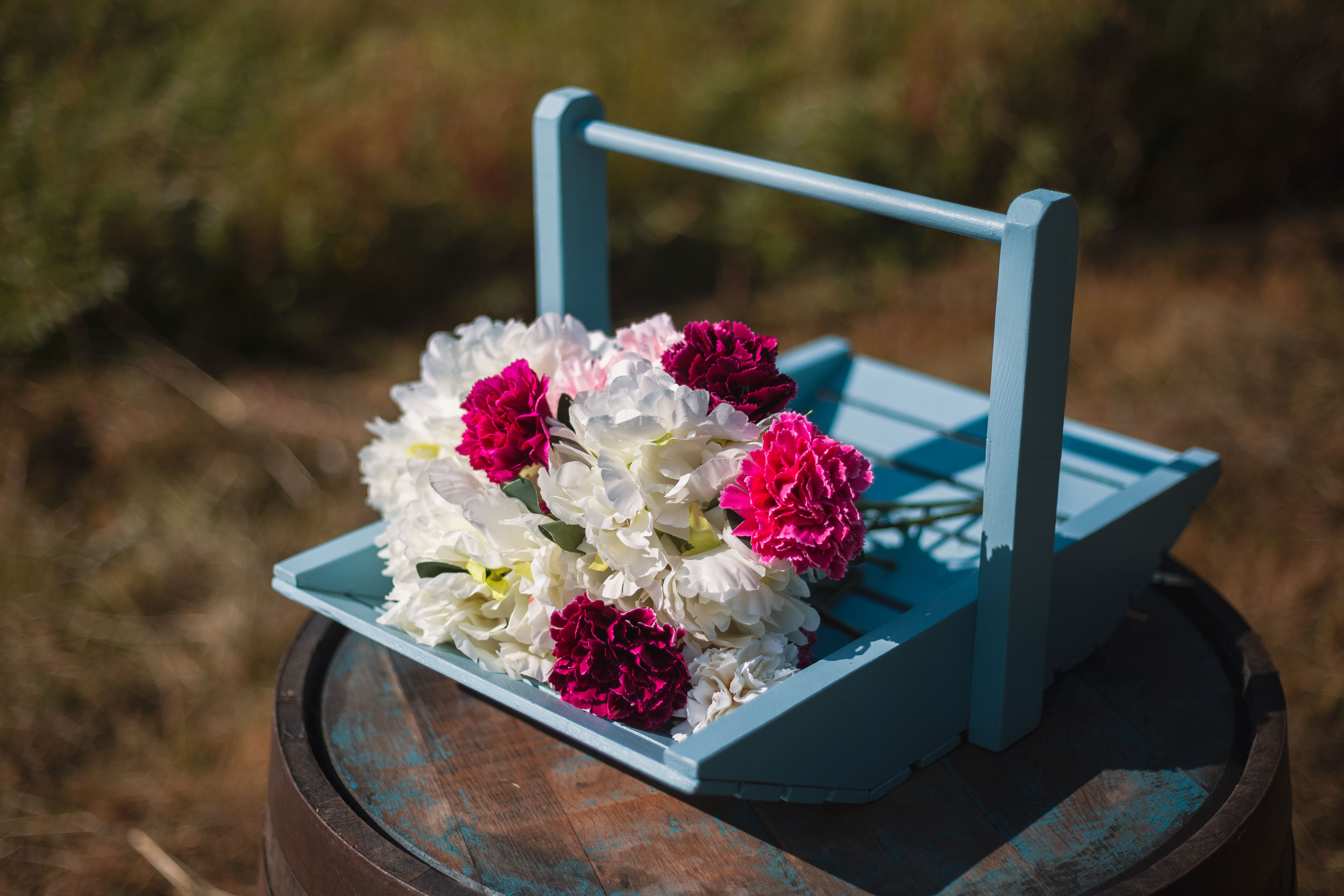 Pale Blue Trug