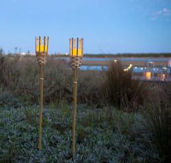 Bamboo Tiki Torch