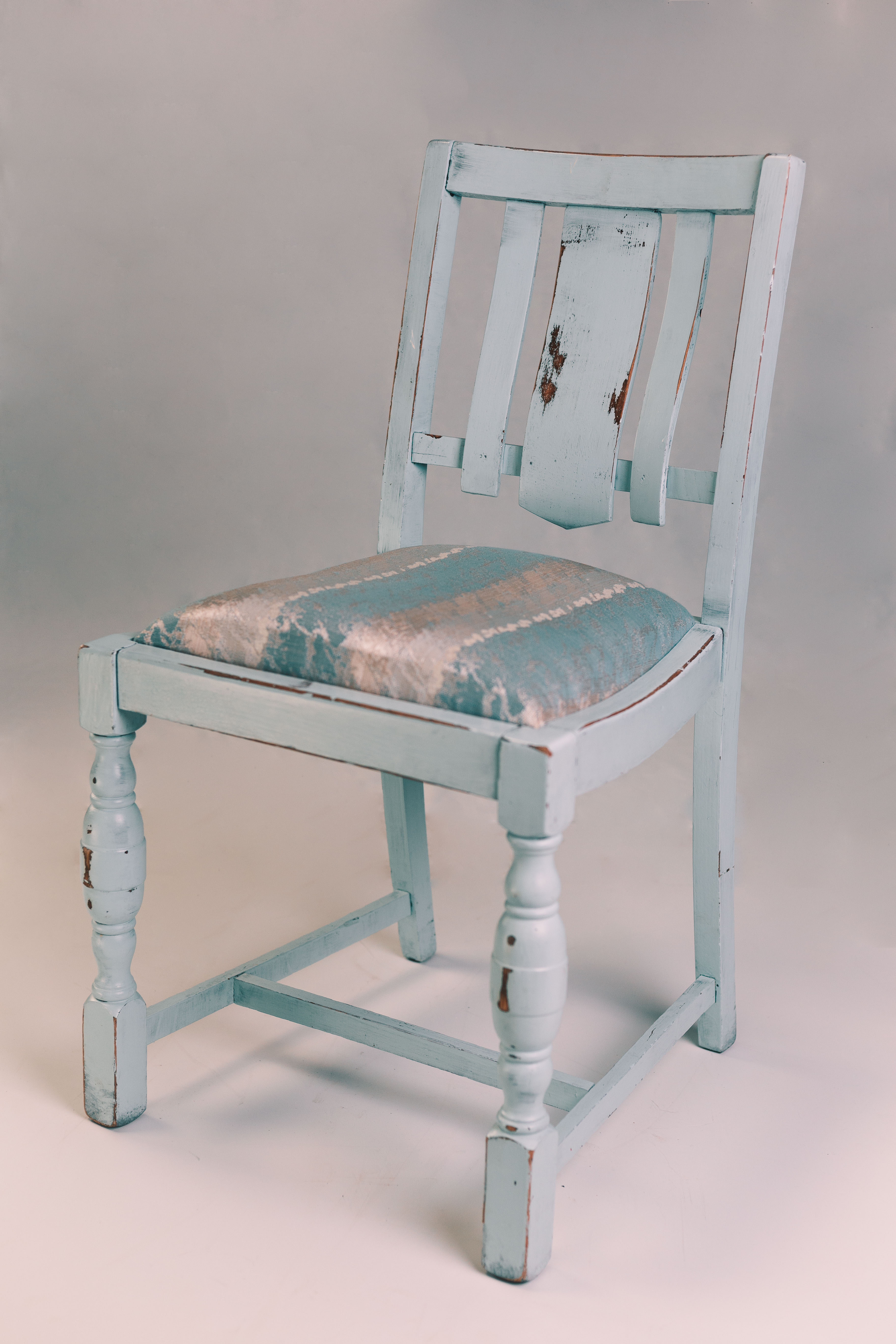 Pale Blue Chair
