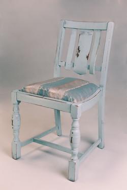 Pale Blue Chair