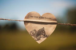 Wind in the Willows Heart Bunting