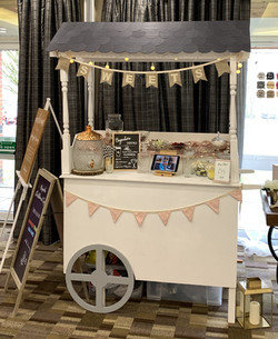 White Sweet Cart
