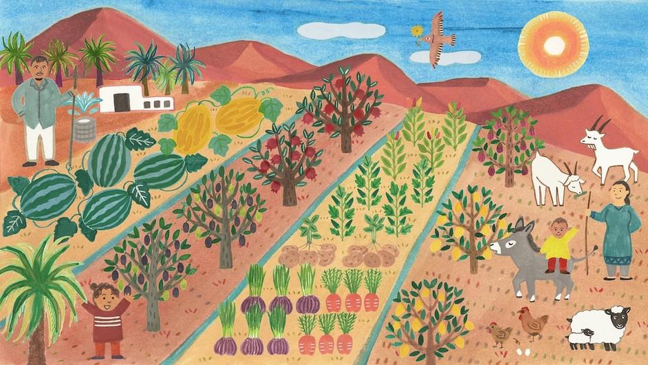 モロッコのサハラ砂漠にエコファームを造る