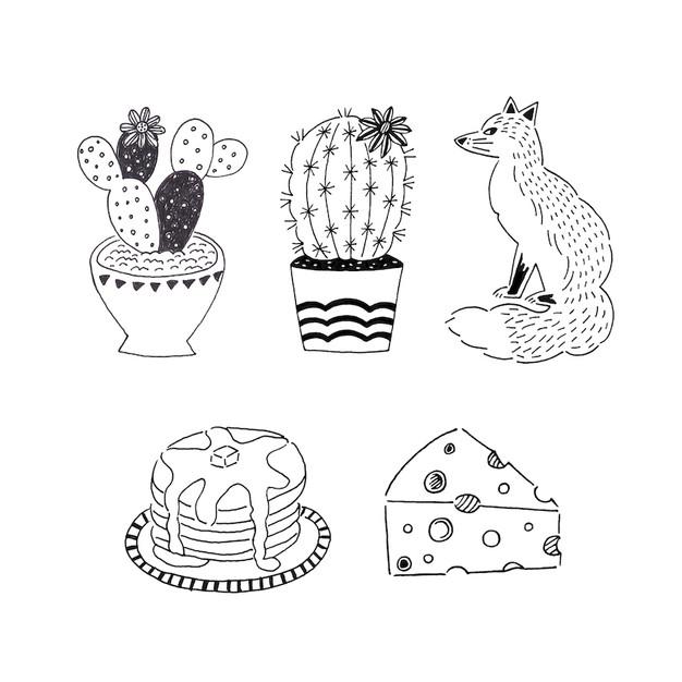 cotch kurumi accessory illustration