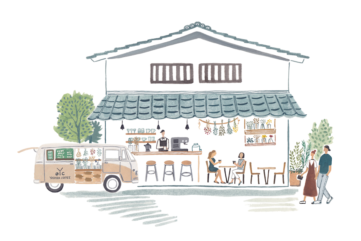 YOSHIDA COFFEE 完成イメージ