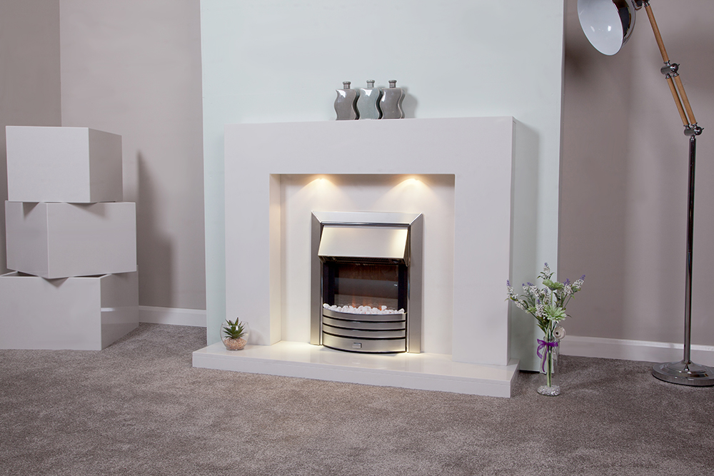Delius suite shown in polar white