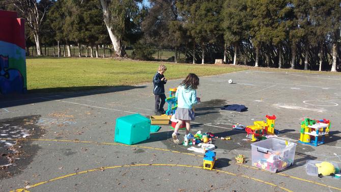 Playgroup Preparation at Dhurringile P.S