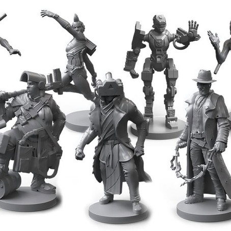 The Miniatures of In Too Deep