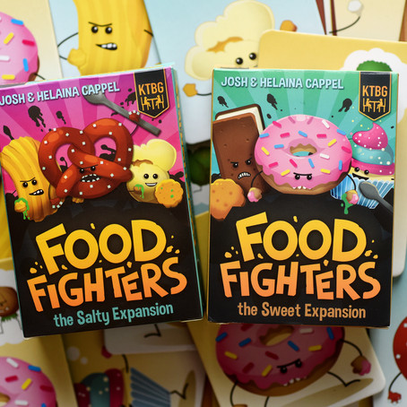 Foodfighters Sweet and Salty Factions Available Now