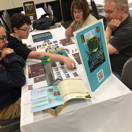 KTBG at Origins and Gen Con