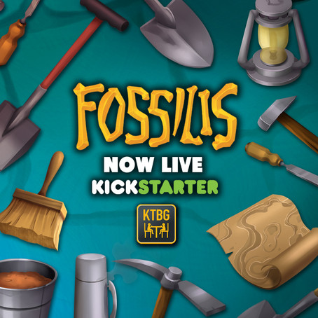 Fossilis is live on Kickstarter