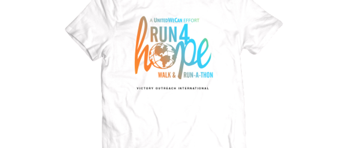 Global Run 4 Hope T-shirt