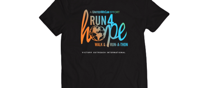 Global Run 4 Hope T-shirt