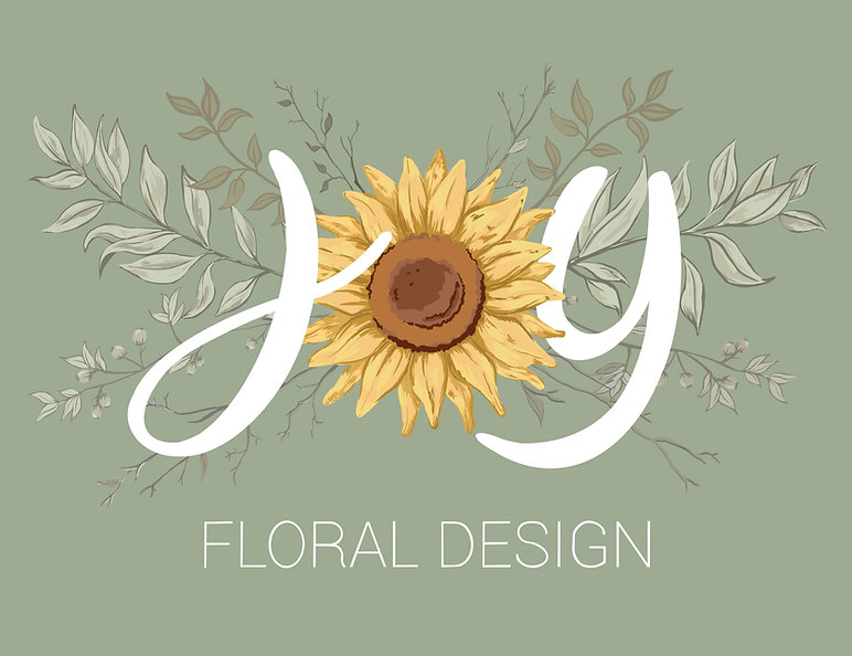 joy floral design wedding florist flowers dorset bournemouth logo boho wild bespoke