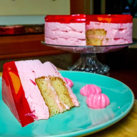 Torta Helada con Biscochuelo