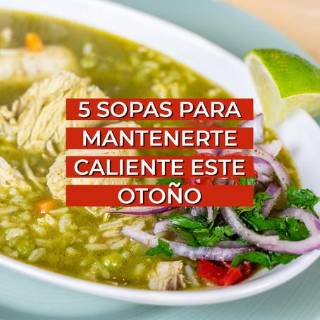 5 Receta de Sopas para Otoño