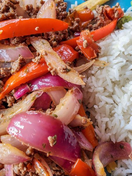 Lomo de Carne Molida | Comida Cuarantena