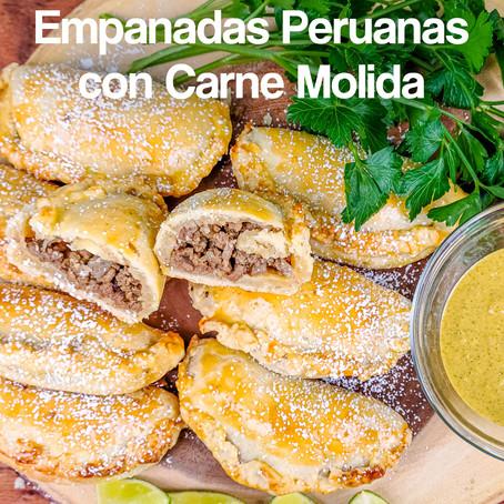 Empanadas Peruanas de Carne Molida