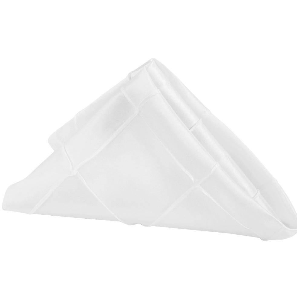 Taffeta-Pintuck-Napkin-White