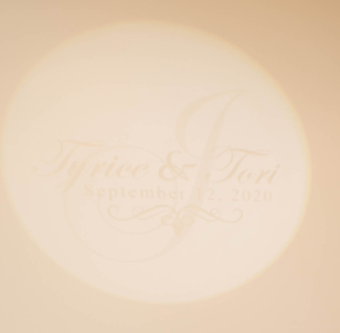 Gobo Projecter (with names and date)