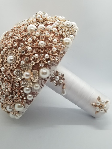 Half Brooch Bouquet