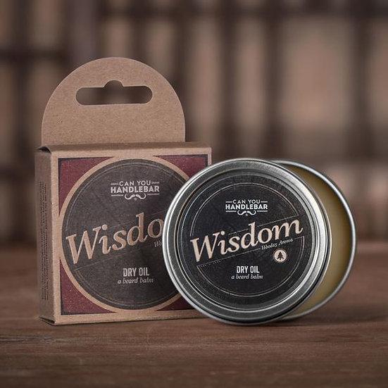 WISDOM - BRIGHT AND WOODSY BEARD BALM