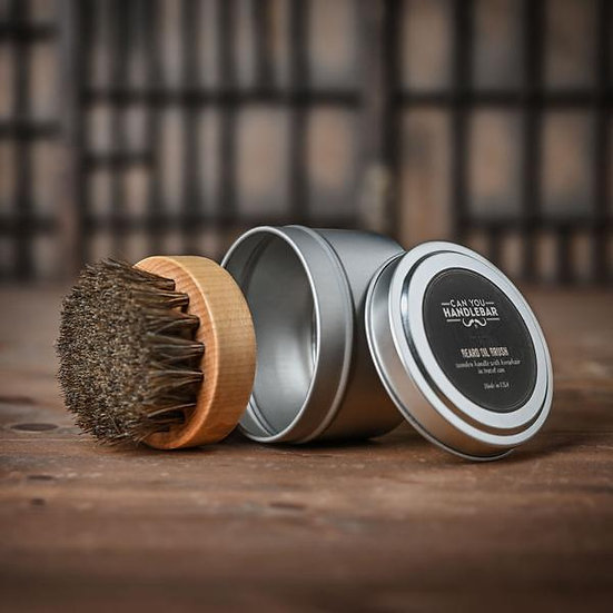 CAN-YOU-HANDLEBAR BEARD OIL BRUSH