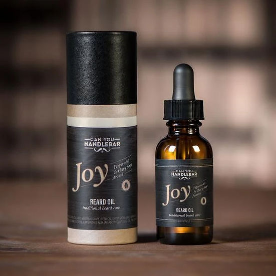 JOY - PEPPERMINT AND CLARY SAGE BEARD OIL
