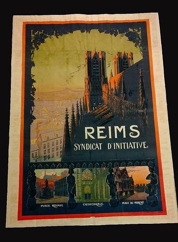 Restauration affiche Sénéchal