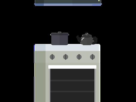 הסכנה בהזזת כיריים גז